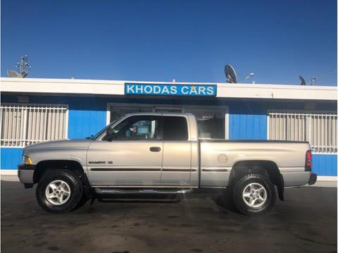 1999 Dodge Ram Pickup 1500 for sale at Khodas Cars in Gilroy CA