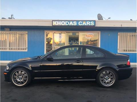 2006 BMW M3 for sale at Khodas Cars in Gilroy CA