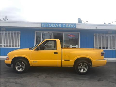 2002 Chevrolet S-10 for sale at Khodas Cars in Gilroy CA