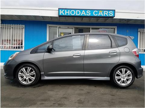 2011 Honda Fit for sale at Khodas Cars in Gilroy CA