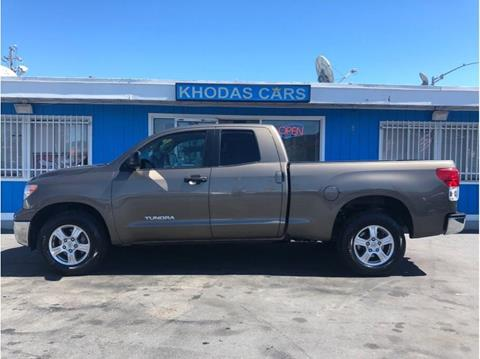 2011 Toyota Tundra for sale at Khodas Cars in Gilroy CA