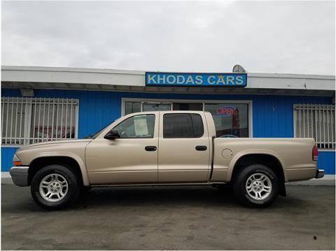2004 Dodge Dakota for sale at Khodas Cars in Gilroy CA