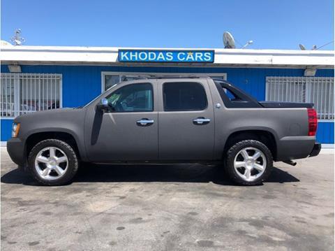 2013 Chevrolet Black Diamond Avalanche for sale at Khodas Cars in Gilroy CA
