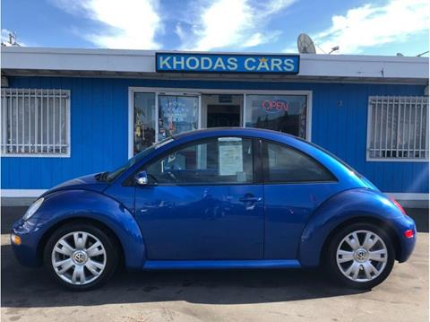 2003 Volkswagen New Beetle for sale at Khodas Cars in Gilroy CA