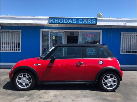 2006 MINI Cooper for sale at Khodas Cars in Gilroy CA