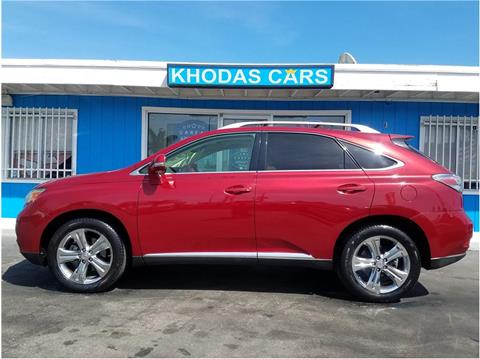2010 Lexus RX 350 for sale at Khodas Cars in Gilroy CA