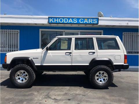 1996 Jeep Cherokee for sale at Khodas Cars in Gilroy CA