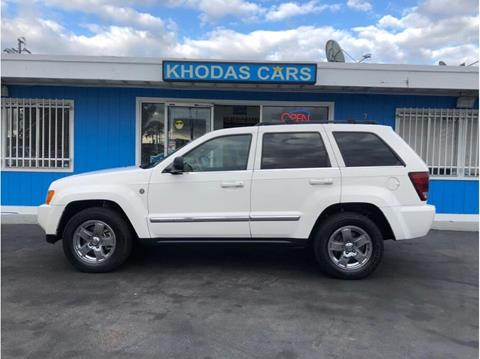 2005 Jeep Grand Cherokee for sale at Khodas Cars in Gilroy CA