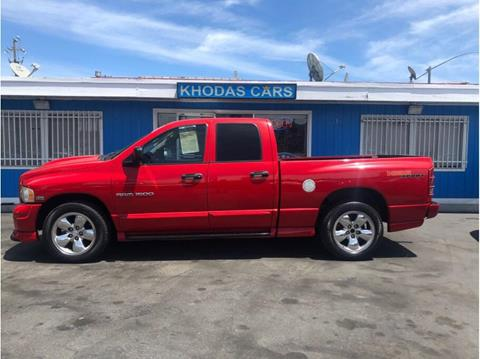 2004 Dodge Ram Pickup 1500 for sale at Khodas Cars in Gilroy CA