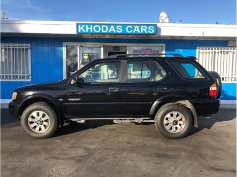 2002 Honda Passport for sale at Khodas Cars in Gilroy CA