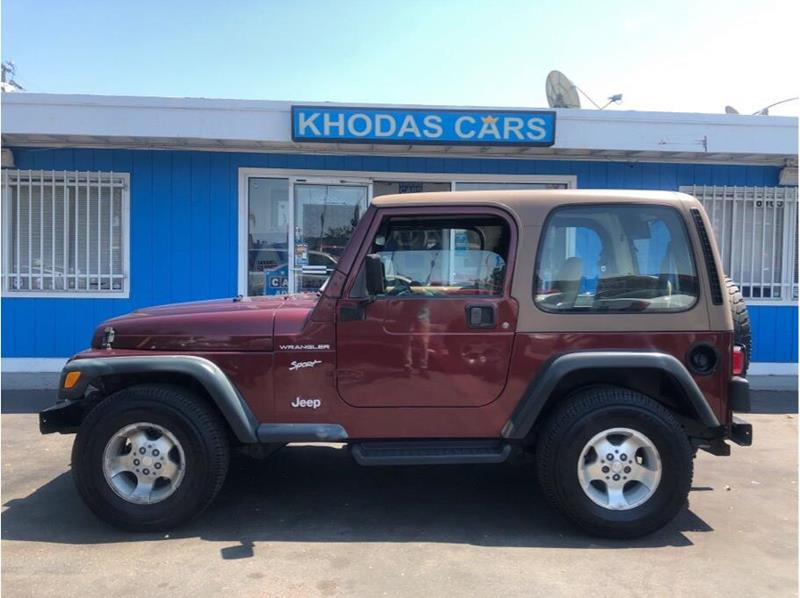 2002 Jeep Wrangler For Sale At Khodas Cars In Gilroy CA