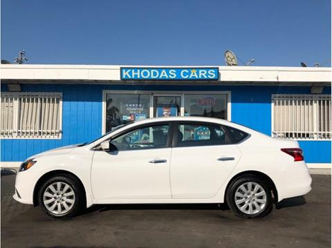 2016 Nissan Sentra for sale at Khodas Cars in Gilroy CA