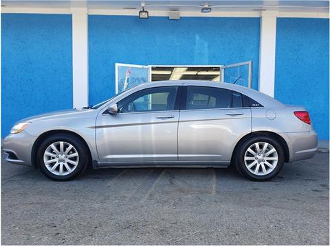 2013 Chrysler 200 for sale at Khodas Cars in Gilroy CA