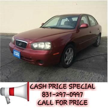 2002 Hyundai Elantra for sale at Khodas Cars in Gilroy CA