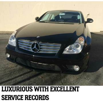 2008 Mercedes-Benz CLS for sale at Khodas Cars in Gilroy CA