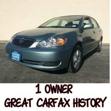 2006 Toyota Corolla for sale at Khodas Cars in Gilroy CA