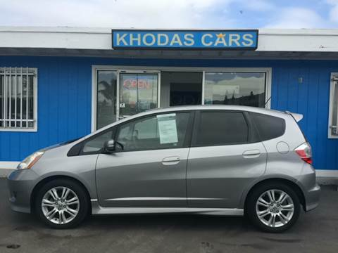 2010 Honda Fit for sale at Khodas Cars in Gilroy CA