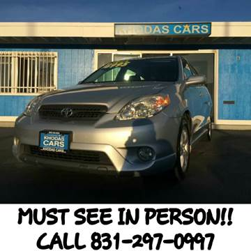 2005 Toyota Matrix for sale at Khodas Cars in Gilroy CA