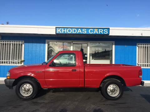 2000 Ford Ranger for sale at Khodas Cars in Gilroy CA