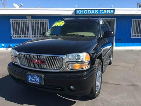 2003 GMC Yukon for sale at Khodas Cars in Gilroy CA