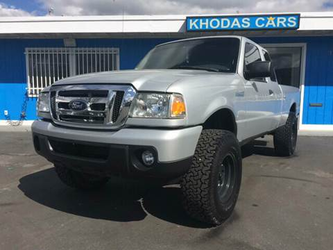 2011 Ford Ranger for sale at Khodas Cars in Gilroy CA