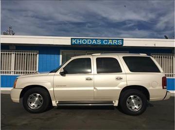 2003 Cadillac Escalade for sale at Khodas Cars in Gilroy CA