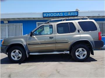 2001 Nissan Xterra for sale at Khodas Cars in Gilroy CA