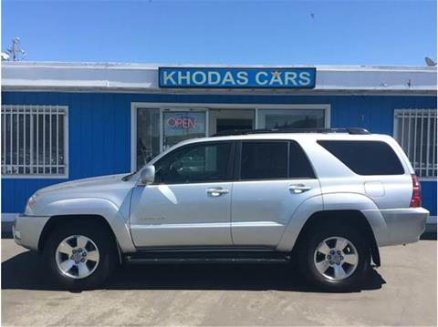 2005 Toyota 4Runner for sale at Khodas Cars in Gilroy CA