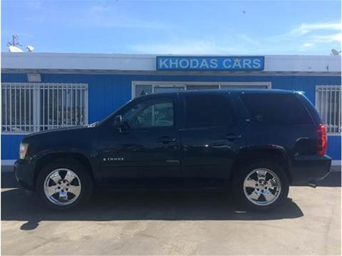 2007 Chevrolet Tahoe for sale at Khodas Cars in Gilroy CA