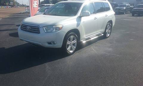 2008 Toyota Highlander for sale in Humboldt, TN