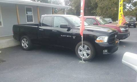 2012 RAM Ram Pickup 1500 for sale in Humboldt, TN