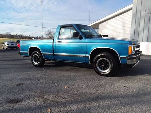 1991 Chevrolet S-10 for sale in Humboldt, TN