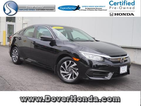 2017 Honda Civic for sale in Dover, NH