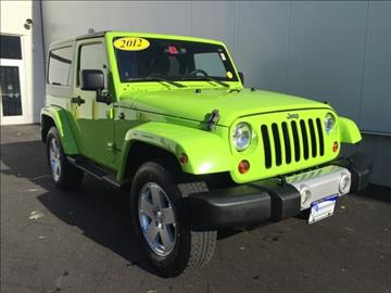 2012 Jeep Wrangler for sale in Dover, NH