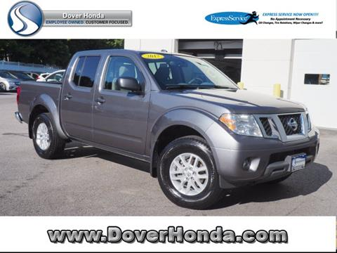 2017 Nissan Frontier for sale in Dover, NH