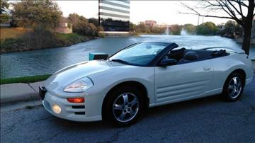 2003 Mitsubishi Eclipse Spyder for sale in Dallas, TX