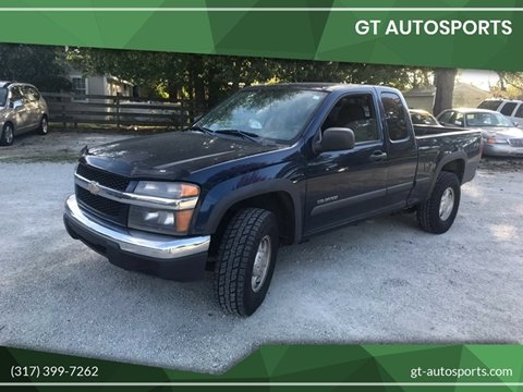 2004 Chevrolet Colorado 4dr Extended Cab Z71 Ls 4wd Sb In Westfield