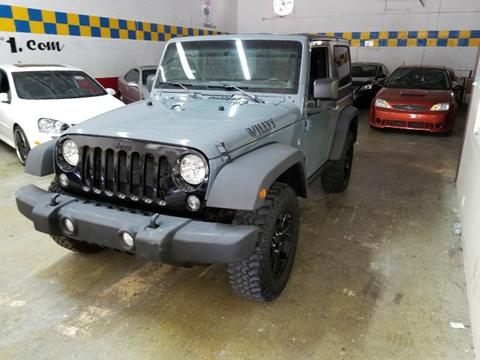 2014 Jeep Wrangler for sale in Hallandale, FL