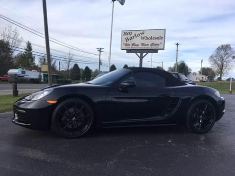 2017 Porsche 718 Boxster for sale in North Vernon, IN