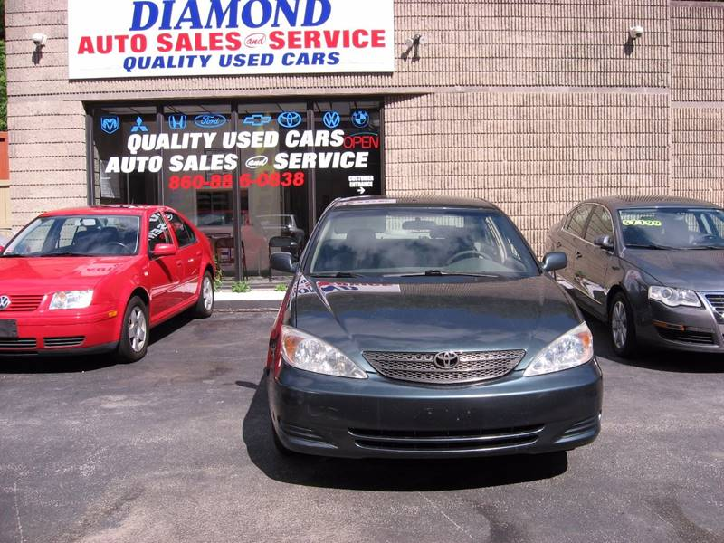 2002 Toyota Camry for sale at Diamond Auto Sales & Service in Norwich CT