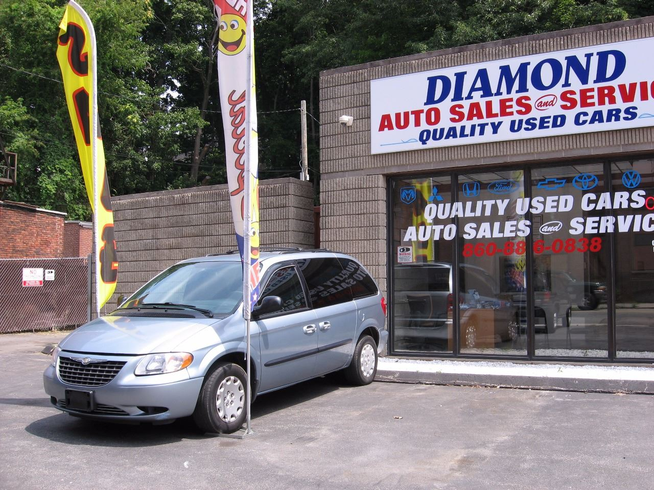 2004 Chrysler Town and Country for sale at Diamond Auto Sales & Service in Norwich CT
