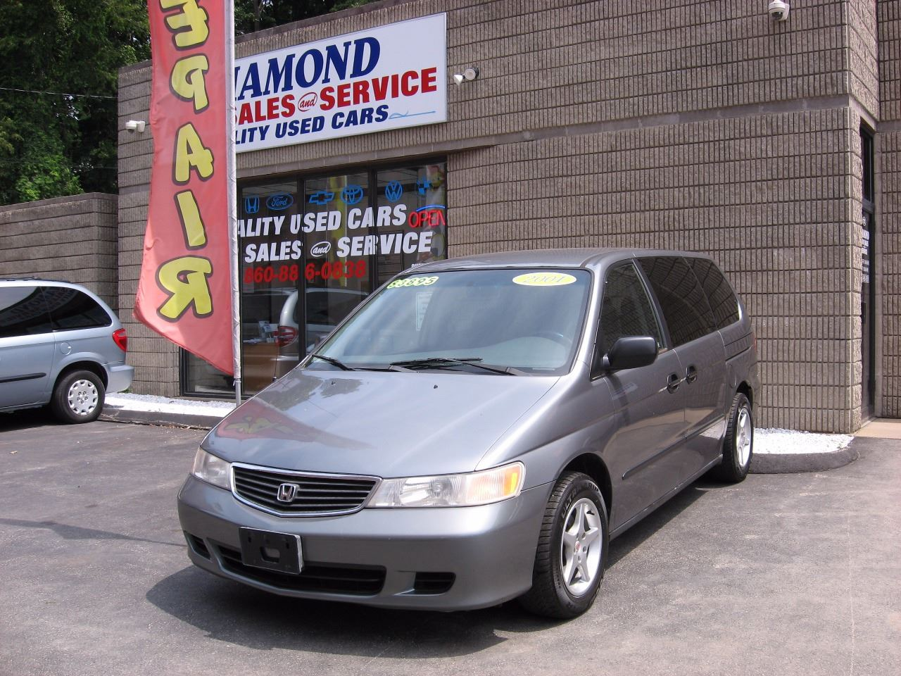 2001 Honda Odyssey for sale at Diamond Auto Sales & Service in Norwich CT