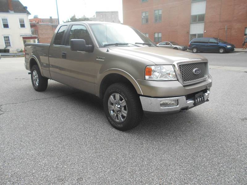 2005 Ford F-150 4dr SuperCab Lariat 4WD Styleside 6.5 ft. SB - Norwich CT