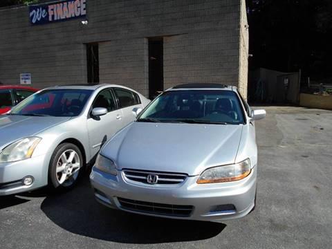 2001 Honda Accord for sale at Diamond Auto Sales & Service in Norwich CT