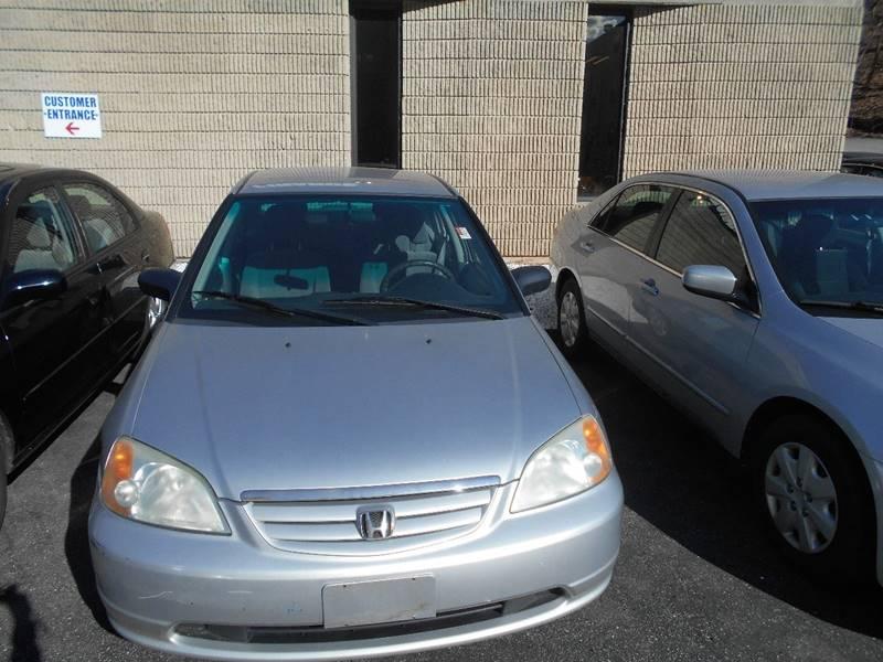 2003 Honda Civic LX 4dr Sedan - Norwich CT