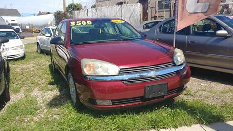 2004 Chevrolet Malibu for sale in Elizabeth, NJ