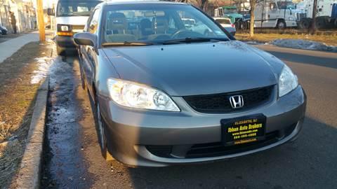 2005 Honda Civic for sale in Elizabeth, NJ