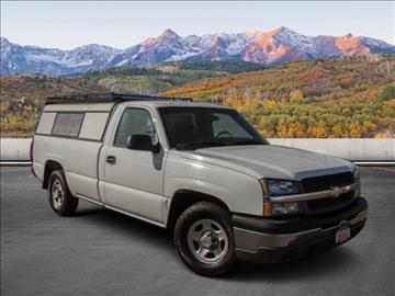 2003 Chevrolet Silverado 1500 for sale in Colorado Springs, CO