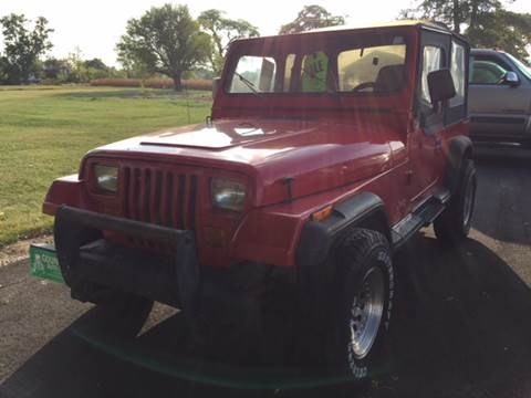 1995 Jeep Wrangler for sale in Greenville, OH