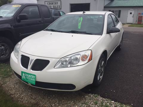 2008 Pontiac G6 for sale in Greenville, OH